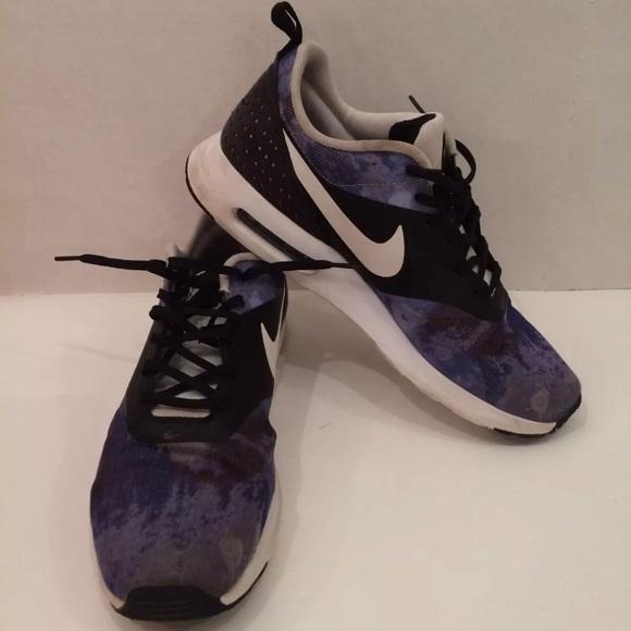 dcd7df900a Nike air max Tavas blue black ink tennis shoes 9